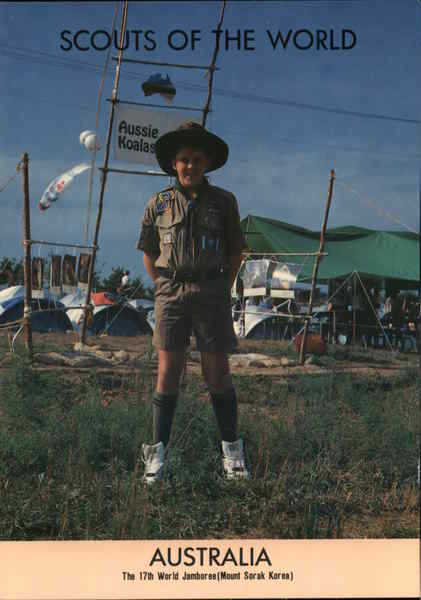 1991 Scouts of the World: Australia Boy Scouts