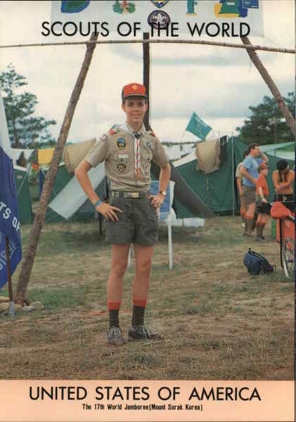 1991 Scouts of the World: United States of America