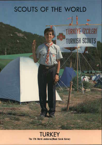 1991 Scouts of the World: Turkey Greece, Turkey, Balkan States