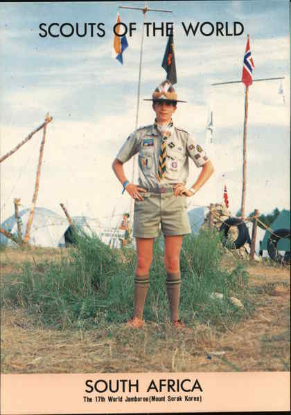 1991 Scouts of the World: South Africa Boy Scouts