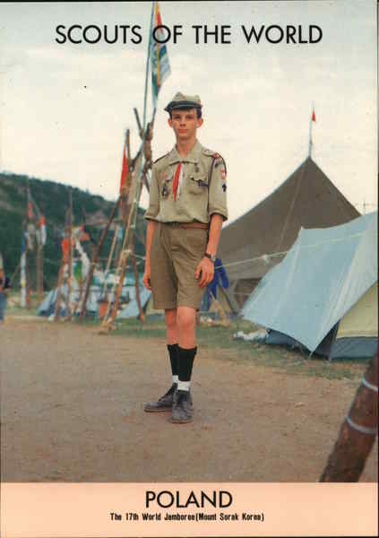 1991 Scouts of the World: Poland Eastern Europe Boy Scouts