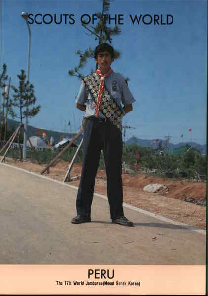 1991 Scouts of the World: Peru Boy Scouts