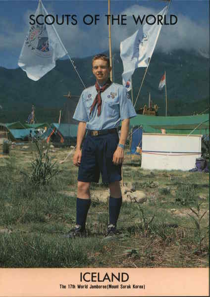 1991 Scouts of the World: Iceland Boy Scouts