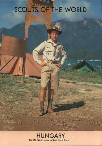 1991 Scouts of the World: Hungary Boy Scouts