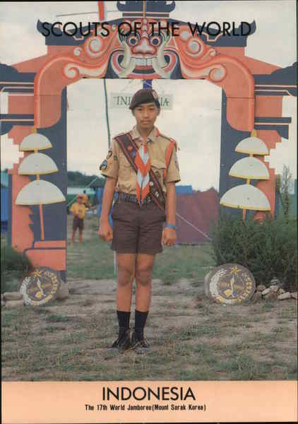 1991 Scouts of the World: Indonesia Southeast Asia