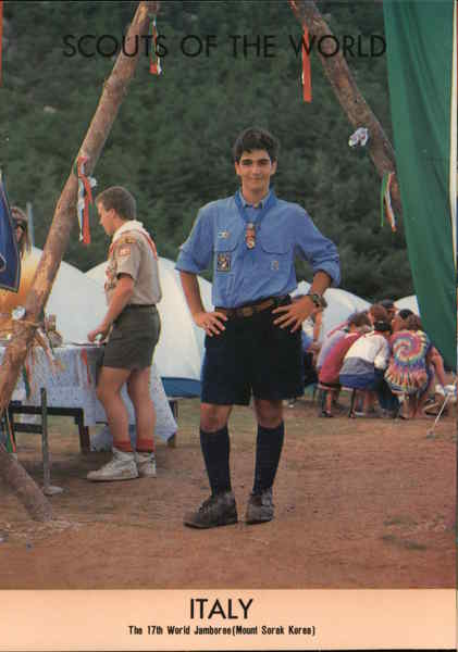 1991 Scouts of the World: Italy Boy Scouts