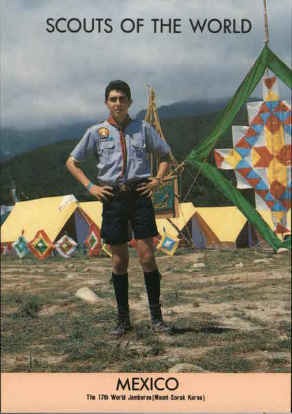 1991 Scouts of the World: Mexico Boy Scouts