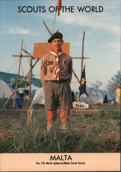 1991 Scouts of the World: Malta Boy Scouts
