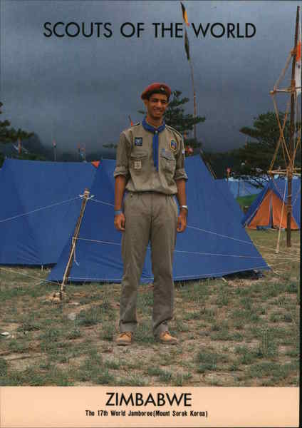 1991 Scouts of the World: Zimbabwe Africa Boy Scouts