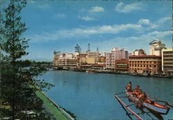 the Pasig River Postcard