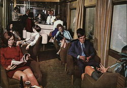 South Africa Railways Blue Train - Lounge Car