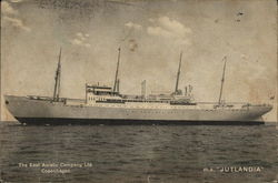The East Asiatic Company Ltd Copenhagen m.s Jutlandia