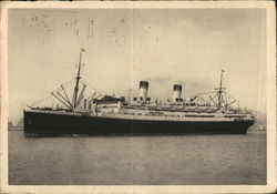 Real Photo of Unidentified Steamer