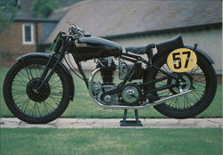 Rudge TT Postcard