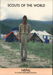 1991 Scouts of the World: Nepal