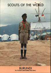 1991 Scouts of the World: Burundi