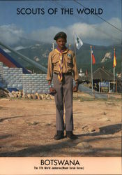 1991 Scouts of the World: Botswana