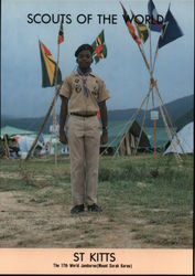 1991 Scouts of the World: St. Kitts