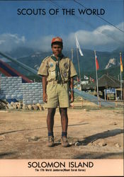 1991 Scouts of the World: Solomon Islands