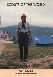 1991 Scouts of the World: Sri Lanka