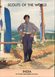 1991 Scouts of the World: India