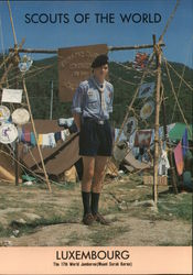 1991 Scouts of the World: Luxembourg