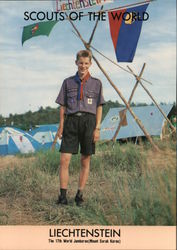 1991 Scouts of the World: Liechtenstein