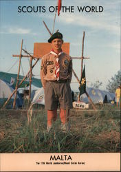 1991 Scouts of the World: Malta