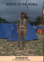 1991 Scouts of the World: Zimbabwe