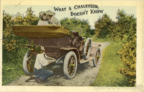 What A Chauffeur Doesn't Know Romance & Love Cars