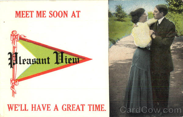 Meet Me Soon At Pleasant View - Banner Card Romance & Love