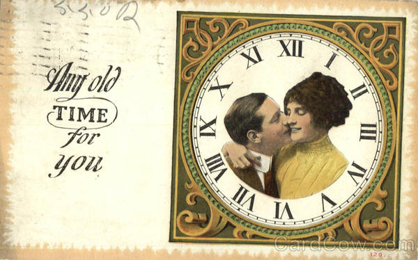 Any old Time for you Romance & Love Clocks & Watches