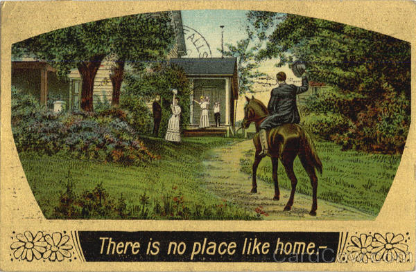 There is no place like home Romance & Love