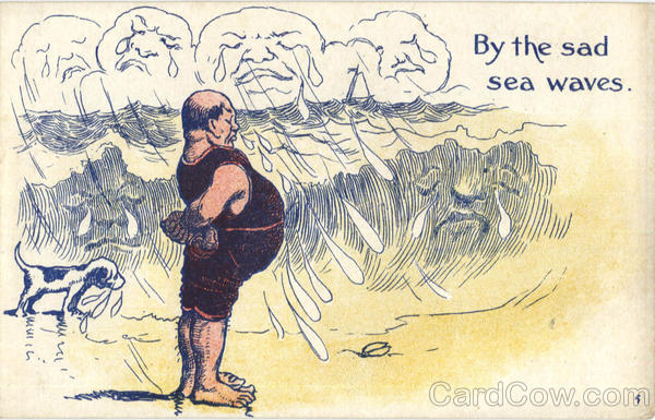 By the sad sea waves Comic, Funny Fat People