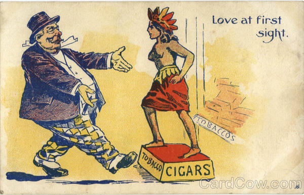 Love at first sight Comic, Funny Tobacco