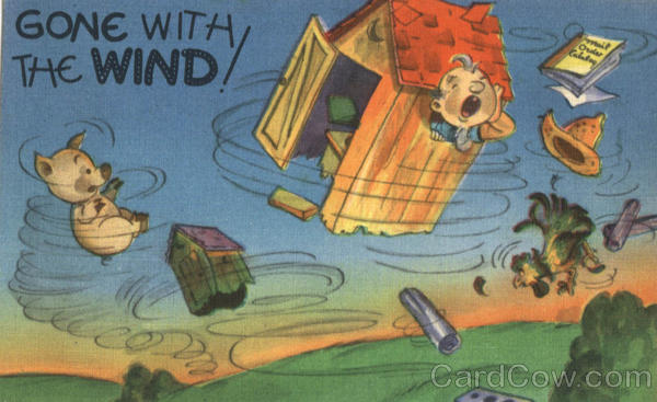 Gone With The Wind Comic, Funny