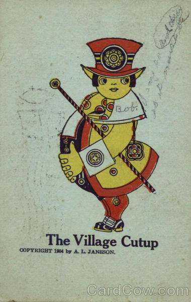 The Village Cutup Artist Signed