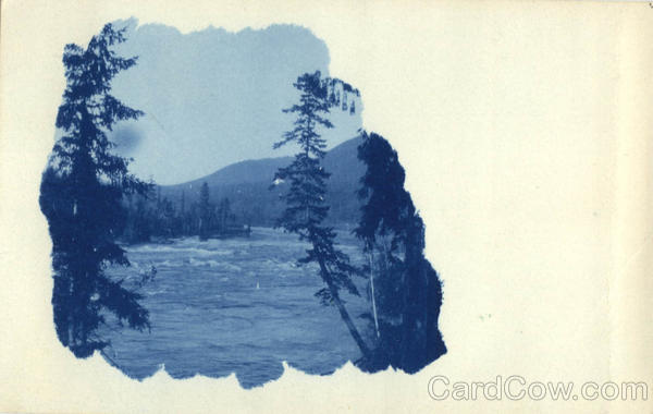 Lake, Mountain Scene - Tinted Landscapes