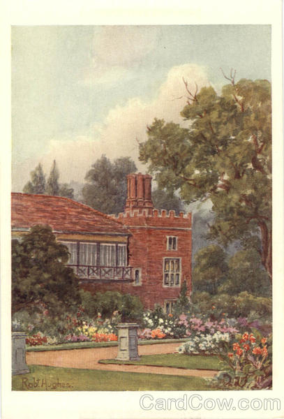 Hampton Court Palace and Gardens Rob Hughes Artist Signed