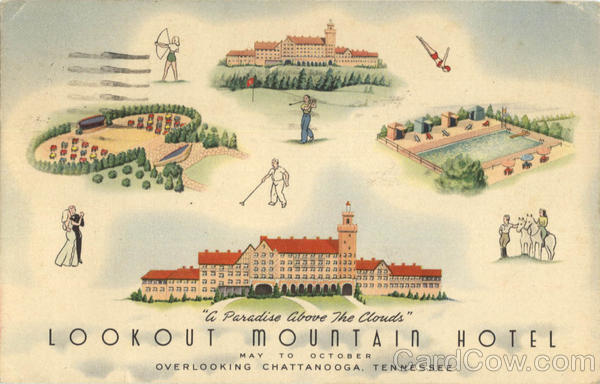 Lookout Mountain Hotel Chattanooga Tennessee
