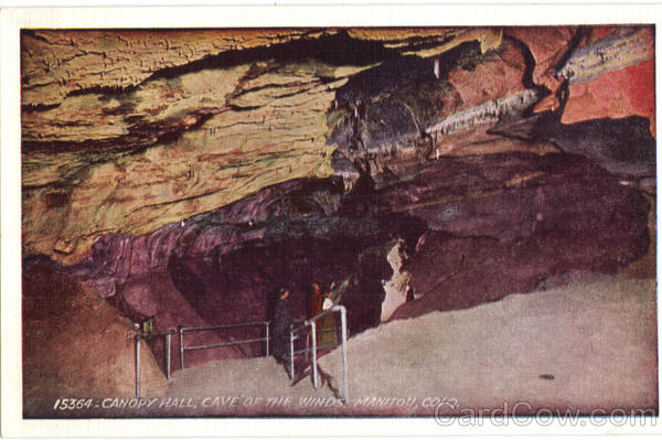 Canopy Hall, Cave of the Winds Manitou Colorado