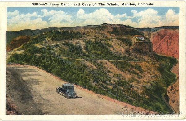 Williams Canon and Cave of The Winds Manitou Colorado