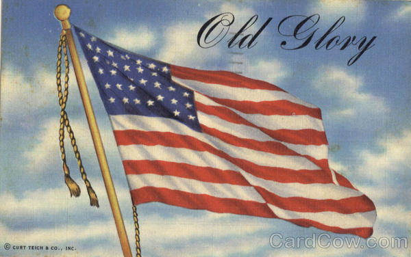 Old Glory - US Flag Patriotic