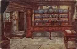 The Rest Room, Anne Hathaway's Cottage Postcard