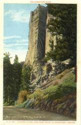 Tower Along The Cody Road in Shoshone Canyon
