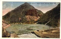 Famous Ogden Canyon, Showing Power Dam