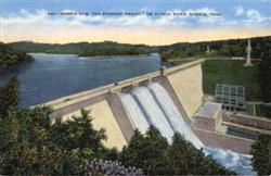 Norris Dam, TVA Storage Project on Clinch River Postcard