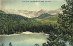 Echo Lake And Mount Evans