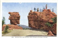 Balanced Rock and Steamboat Rock