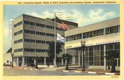 Columbia Square, Home of KNX Columbia Broadcasting System Postcard
